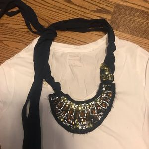 COPY - Abercrombie & Fitch Navy Nacklace Accessory